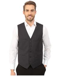 Perry Ellis Slim Fit Pattern Vest