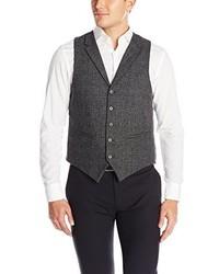U.S. Polo Assn. Wool Glen Plaid Vest