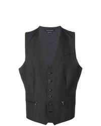 Alexander McQueen Zipped Pocket Waistcoat