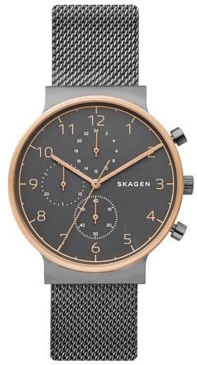 58f7d66aa Skagen Ancher Chronograph Mesh Strap Watch 40mm, $225 | Nordstrom ...