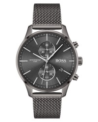 BOSS Associate Chronograpch Mesh Watch