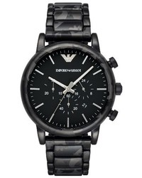 Emporio Armani Chronograph Bracelet Watch 46mm