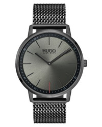 BOSS Exist Mesh Watch
