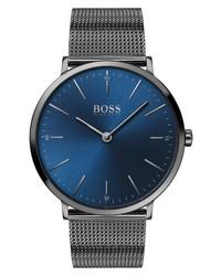 BOSS Horizon Mesh Watch