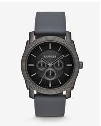 Express Rivington Multi Function Watch Gray
