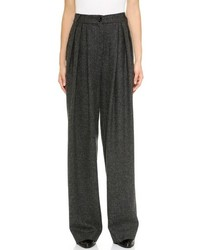 Charcoal wide leg pants original 4512501