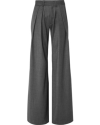 Matthew Adams Dolan Herringbone Wide Leg Pants