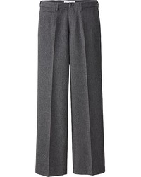 Uniqlo Idlf Flannel Wide Leg Pants
