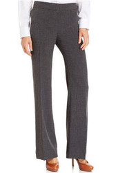 Nine West Modern Flared Leg Melange Trousers