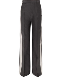 Rick Owens Striped Woven Wide Leg Pants