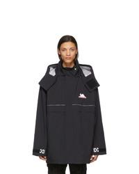 Off-White Black Technical Shell Jacket