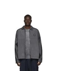 Stone Island Grey Nylon Metal Watro Jacket