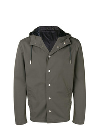Eleventy Hooded Fitted Jacket