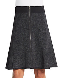 A.L.C. Billy Rib Knit A Line Skirt