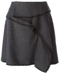 Kenzo Layered A Line Skirt