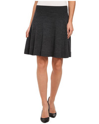Lacoste A Line Wool Sweater Skirt