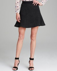 Rebecca Taylor Skirt Textured Flounce