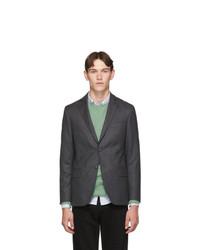 Officine Generale Grey Wool 375 Blazer