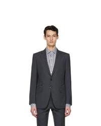 Tom Ford Grey Wool Oconnor Blazer
