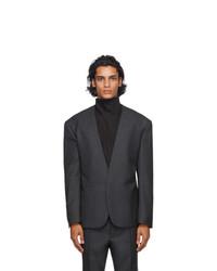 Fear of God Ermenegildo Zegna Grey Wool Single Breasted Blazer