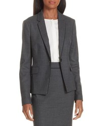 Jorita geometric wool blend suit jacket medium 8697750