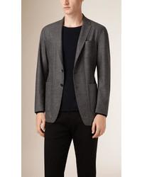 Burberry Lightweight Wool Blend Tailored Jacket