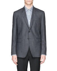 Paul Smith London Byard Micro Houndstooth Wool Blend Blazer