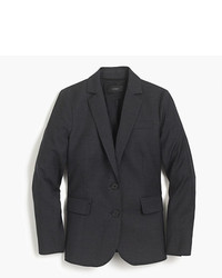 Petite tailored blazer in italian super 120s wool medium 5080350