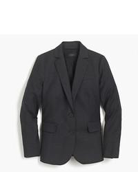 Petite tailored blazer in italian super 120s wool medium 5080350