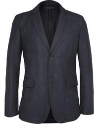 rag & bone Phillips Slim Fit Checked Wool Blend Blazer