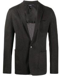 Dolce & Gabbana Single Breasted Virgin Wool Blazer