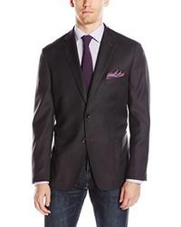 Bensol Slim Fit Wool Mini Hopsack L Blazer