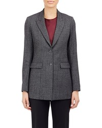 The Row Two Button Pliner Jacket Grey