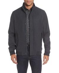 London adam wool bomber jacket medium 816210