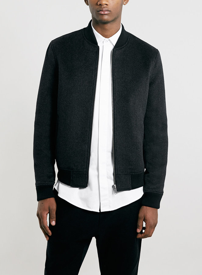 Topman Premium Textured Bomber Jacket | Where to buy & how to wear