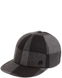 Maison Michel Hailey Wool Baseball Cap