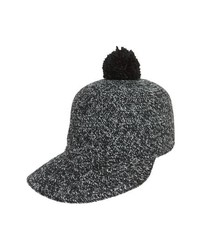 Leith Pom Tweed Cap