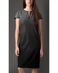 Burberry Dgrad Wool Blend Dress
