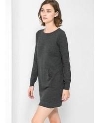 Mango Pocket Wool Blend Dress