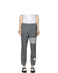 Thom Browne Grey 4 Bar Track Trousers