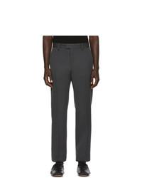 Bottega Veneta Grey Compact Wool Trousers
