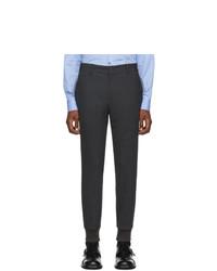 Wooyoungmi Grey Cuffed Trousers