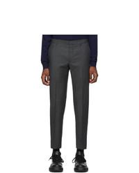 Prada Grey Pinhead Trousers