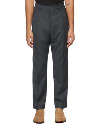 Paul Smith Grey Stretch Wool Trousers