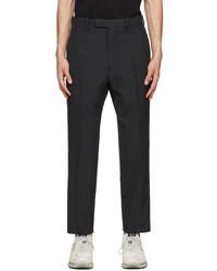 Oamc Grey Wool Bleach Trousers