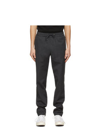 A.P.C. Grey Wool Kaplan Trousers