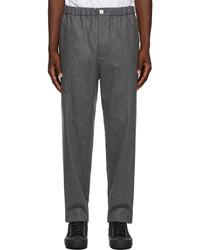 Jil Sander Grey Wool Trousers