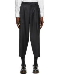 Comme des Garcons Homme Deux Wool Stripe Trousers