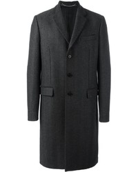 Givenchy Buttoned Mid Length Coat