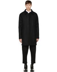 MAISON KITSUNÉ Maison Kitsune Grey Classic Wool Coat